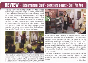 Kidderminster Stuff Slap Mag review