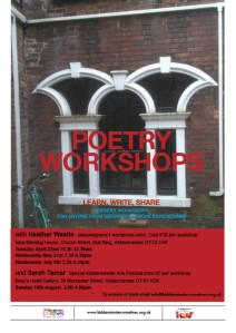 Poetry workshops flyer