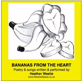 Bananas from the Heart CD sleeve