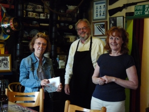 Canalchef Cafe with Lesley & Ian Lauder