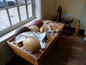 Inside the Webb Ellis Museum