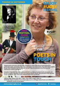 Poets in Touch flyer