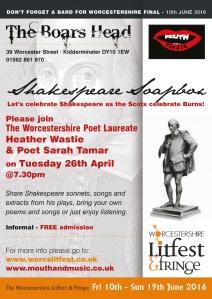 Shakespeare Soapbox poster