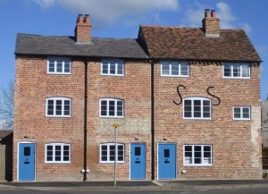 Weavers' Cottages completed