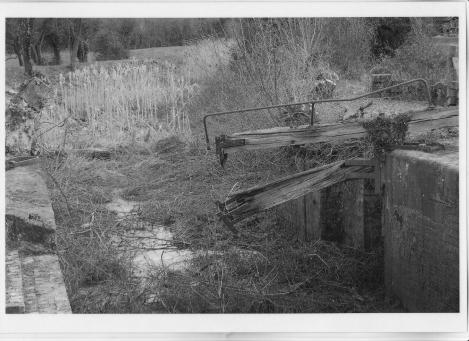 No 1 Hawford Lock 1973