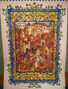 Louise Regan - Medieval Town Illumination